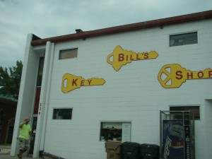 Three Keys sign